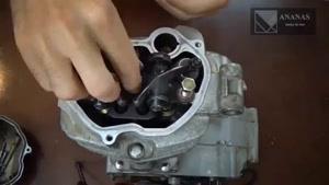 روش بازکردن قطعات موتور هوندا 125(پارت 1)