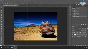 نحوه ی ساخت جلوه های ویژه تصویری در نرم افزار فتوشاپ قسمت 5