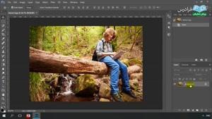 نحوه ی ساخت جلوه های ویژه تصویری در نرم افزار فتوشاپ قسمت 7