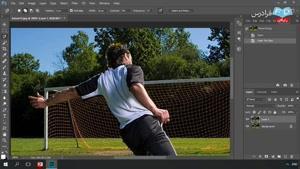 نحوه ی ساخت جلوه های ویژه تصویری در نرم افزار فتوشاپ قسمت 15