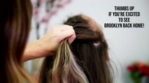 آموزش بافت موی فرانسوی مدل دابل