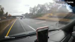کلیپی از تصادف های وحشتناک و خطرناک