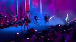 اجرای زنده ی آهنگ دردانه از فرزاد فرخ