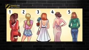 تست روانشناسی جدید،به نظر شما کدام زن جذاب تر است؟