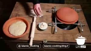 روش پخت نان در ساج گلی در منزل با خمیر ترش