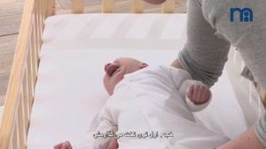 چگونه قرار دادن نوزاد تازه متولد شده در خواب