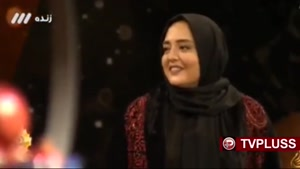 گفتگوی رضا رشید پور با نرگس محمدی در شب یلدا