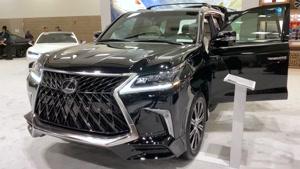 نمایش خودروی لکسوس LX 570 Sport
