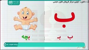 آموزش راحت حروف الفبا به کودکان | www.118file.com