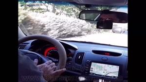 کاهش صدای مزاحم خودرو سراتو با نصب ضربه گیر برسام