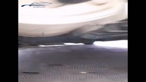 رفع کوبش خودرو تالیسمان تنها با ضربه گیر فنر برسام یدک