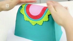 تزئین کیک به شکل اشیا مختلف