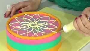 آموزش تزیین کیک تولد هندوانه