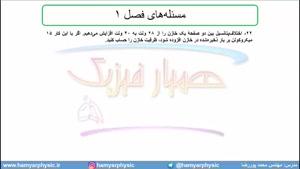 جلسه 72 فیزیک یازدهم - خازن 5 - مدرس محمد پوررضا