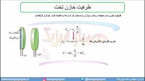 جلسه 70 فیزیک یازدهم - خازن 3- مدرس محمد پوررضا