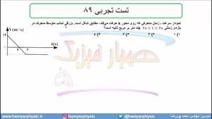 جلسه 36 فیزیک نظام قدیم - حرکت شناسی 14 و تست تجربی 89 - مدرس محمد پوررضا