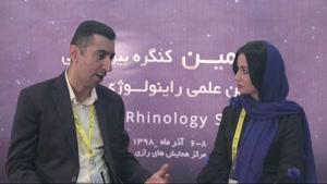 دکتر صالح محبی در هفتمین کنگره بین المللی انجمن علمی راینولوژی ایران سال 98