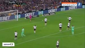 خلاصه بازی والنسیا 1-1 رئال مادرید