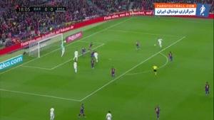 خلاصه بازی بارسلونا و رئال مادرید؛ قفل دروازه ها بسته ماند