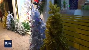 نماشا میزان محبوبیت کریسمس در پایتخت