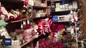 نماشا کریسمس در محله جلفای نوی اصفهان