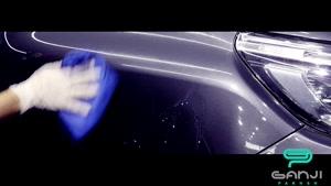 واکس پرسرعت نانوتیس براقیت و آبگریزی بدنه خودرو در یک حرکت