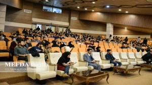 معین تبریزی در هفته فرهنگی 98 دانشگاه علوم پزشکی تبریز