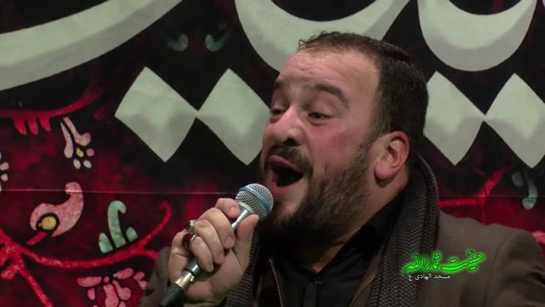 حاج محمود کریمی حاج سید طالع باکویی حاج امین مقدم شب چهارم فاطمیه دوم