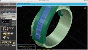آموزش ماتریکس ۹ نرم افزار طراحی طلا و جواهر