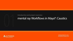 آموزش Caustic در منتال ری و مایا