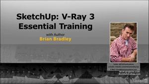 آموزش رندرینگ با VRay در SketchUp