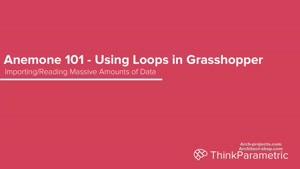استفاده از لوپ ها در Grasshopper