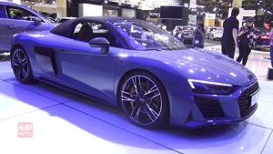 رونمایی از Audi R8 Spyder