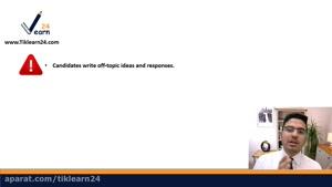 آموزش رایتینگ آیلتس - درس شش