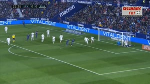 خلاصه بازی رئال مادرید و لوانته - لالیگا اسپانیا