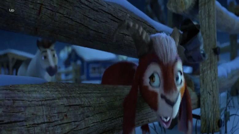 انیمیشن الیوت ( کوچک ترین گوزن شمالی)