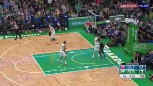 خلاصه بسکتبال دیترویت پیستونز - بوستون سلتیکس