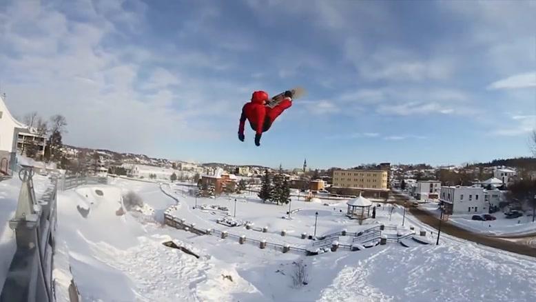 لحظات عجیب در اسکی و اسنوبورد