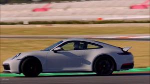 دریفت های زیبا با پورشه مدل  2020 Porsche 911 992