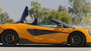 مشخصات و نمای داخلی و بیرونی خودرو مک لارن  2020 600LT Spider