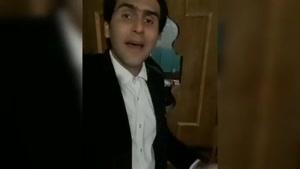 این هموطن  باید بره برنامه عصر جدید احسان علی خانی 😂😂