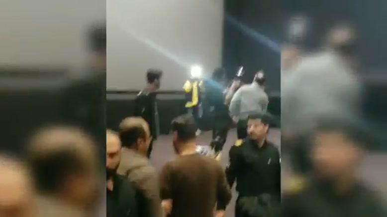 حواشی کامل از حضور شهاب حسینی در  پردیس کوروش