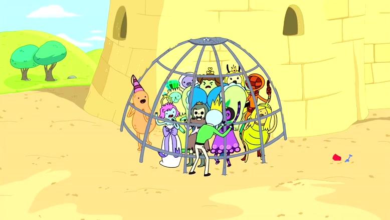 انیمیشن وقت ماجراجویی Adventure Time دوبله فارسی فصل ۲ قسمت دو