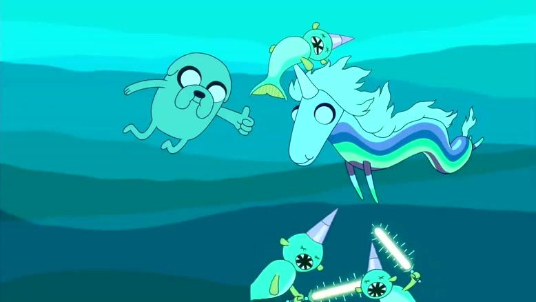 انیمیشن وقت ماجراجویی Adventure Time دوبله فارسی فصل ۱ قسمت پنج