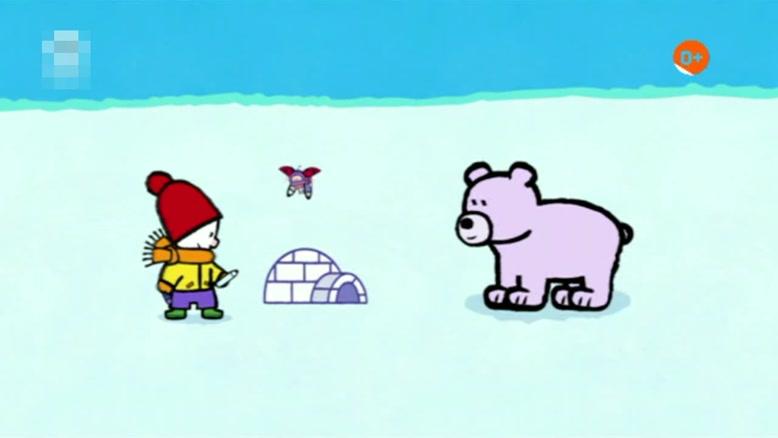 انیمیشن آموزش زبان انگلیسی  LOUIE THE DRAWING BUNNY قسمت چهارده