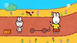 انیمیشن آموزش زبان انگلیسی LOUIE THE DRAWING BUNNY قسمت سه