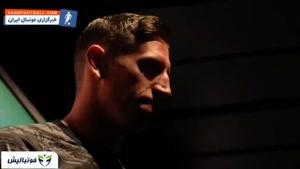 حضور ابراهیموویچ در مراسم رونمایی از کیت جدید لس آنجلس گلکسی