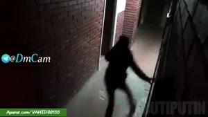 دوربین مخفی خیلی ترسناک خارجی