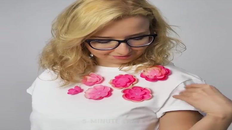 یاد بگیرید با کاغذ گل درست کنید