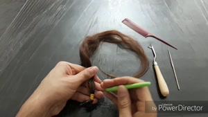 آموزش درد کردن مو